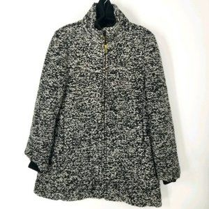 NWT J Crew Lodge Coat Speckled Boucle 12 Wool New